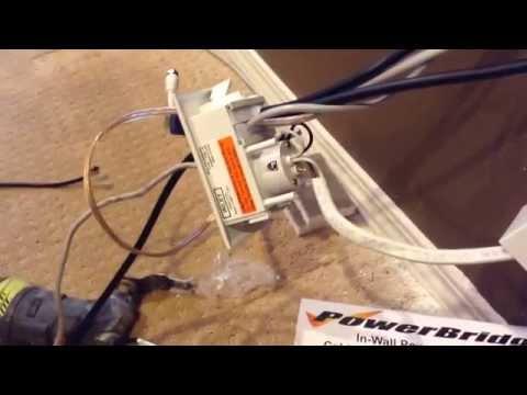 Power Bridge One-Pro Cable Management Installation