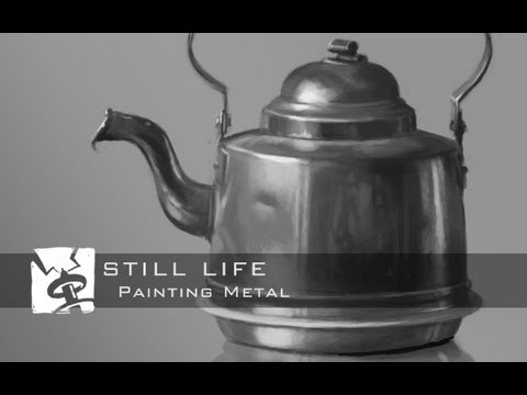Still Life - Painting Metal