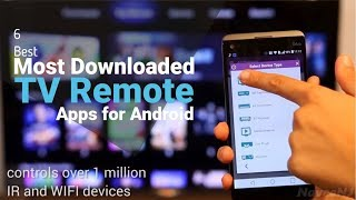 6 Best Most Downloaded TV Remote Apps for Android