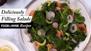 5 Satisfying Salads That Will Fill You Up | Food & Wine Recipes