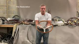 Ferrari 330 Walshaw Steering Wheel Restoration