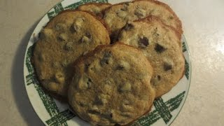 My Big, Fat chewy chocolate chip cookies.