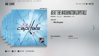 NHL 18   FINAL Solo Team Challenge - Player Pack Reward !
