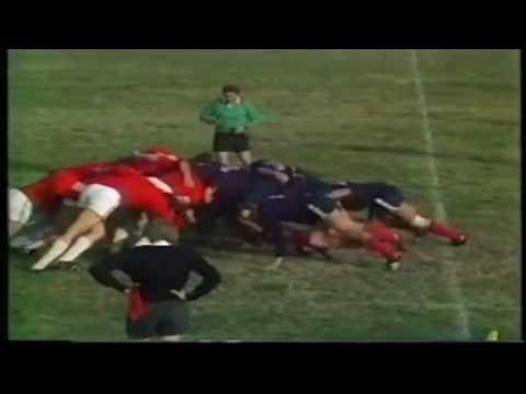 SFR Yugoslavia Československo FIRA Trophy 1983