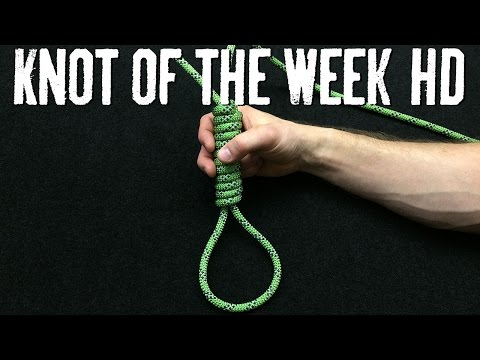 How to Tie the Hangman's Noose - ITS Knot of the Week HD