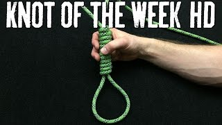 How to Tie tнe Hangman's Noose - ITS Knot of the Week HD