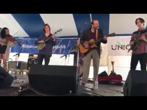 Danny Knicely's Next Generation performing live at the 2017 Richmond Folk Festival