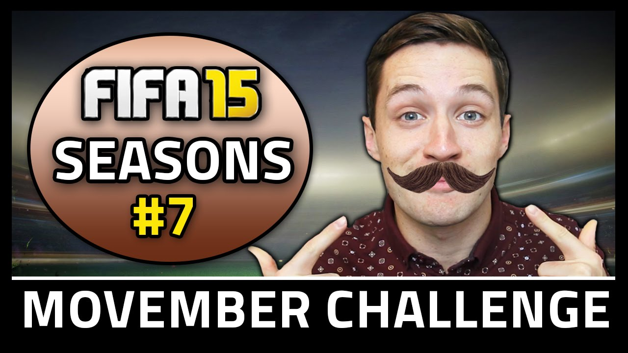 MOVEMBER CHALLENGE! #7 - Fifa 15 Seasons