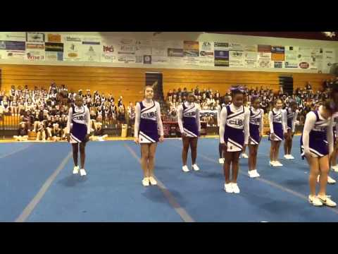 Cobb Middle School - Tallahassee, FL - 2013 Cheer Showcase