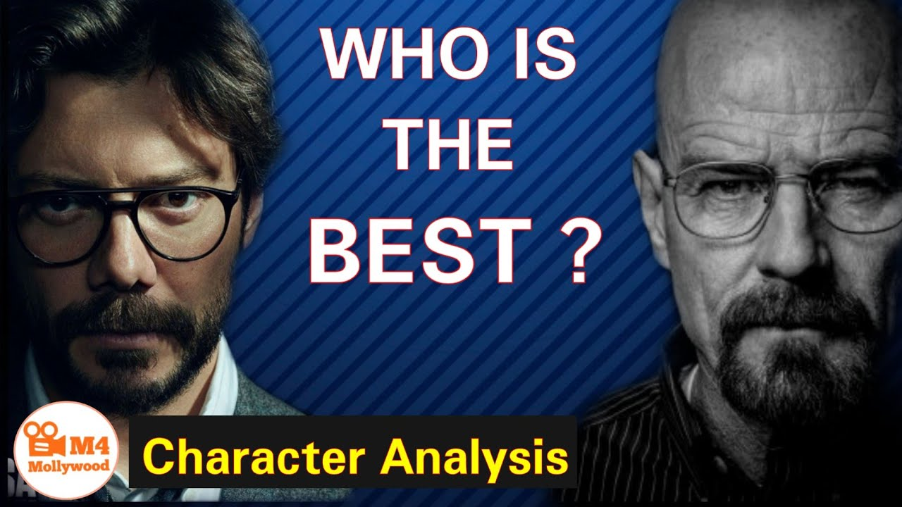 Breaking Bad Walter White Vs Money Heist Professor | Who is the Best | Malayalam Video essay