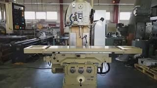 Модернизированный вертикально-фрезерный станок FSS-400