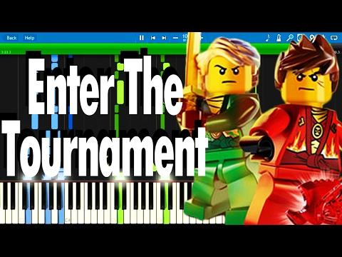 LEGO NINJAGO - Enter the Tournament by The Fold   Synthesia Piano Tutorial