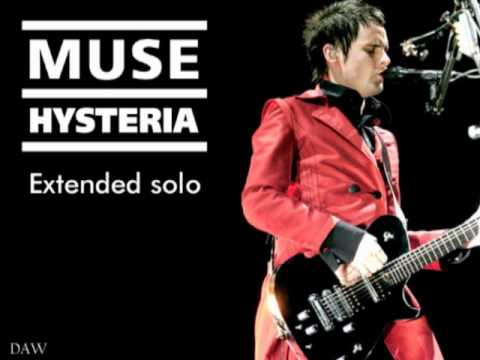 Muse - Hysteria extended solo version
