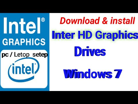 How To Download And Install Intel Graphics Driver In Pc/Laptop (Step By Step)