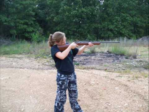 target shooting at the cabin 9/6/09
