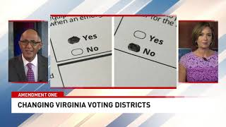 Amendment 1: How a question on this year's ballot could change Virginia's voting districts