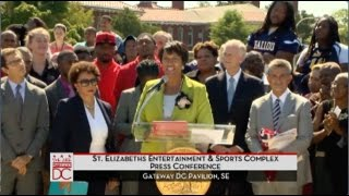 Mayor Bowser Announces Ward 8 Entertainment & Sports Arena, 9/16/15