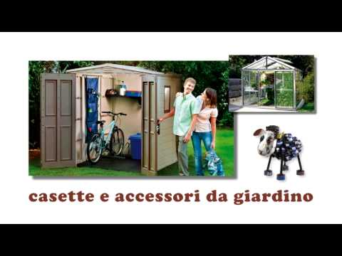 Casette Da Giardino Brico : Spot brico sa casette da giardino youtube