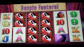 $$$ Amazing Wicked Winnings III Respin and Line Hit Wins $$$