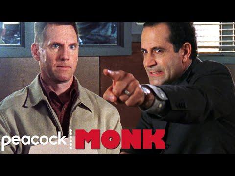 Adrian Interrogates A Suspect With OCD | Monk