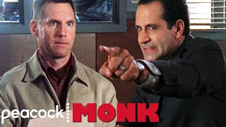 Adrian Interrogates a Suspect With OCD | Monk