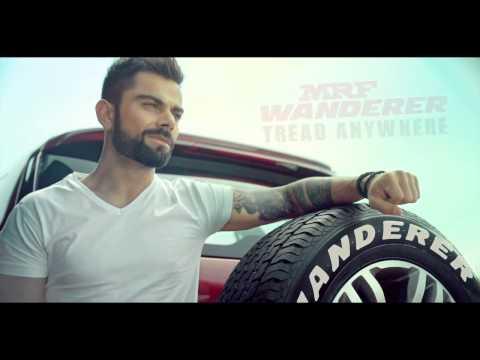 MRF Wanderer - Tread Anywhere featuring Virat Kohli (Hinglish)