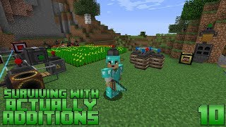 Surviving With Actually Additions :: E10 - Mining Drill & Augments