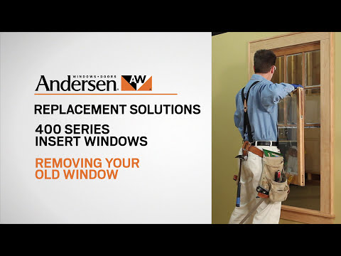 How To Install Tilt-Wash Double-Hung Insert Replacement Window