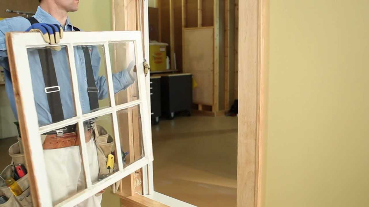 how to install tilt wash double hung insert replacement