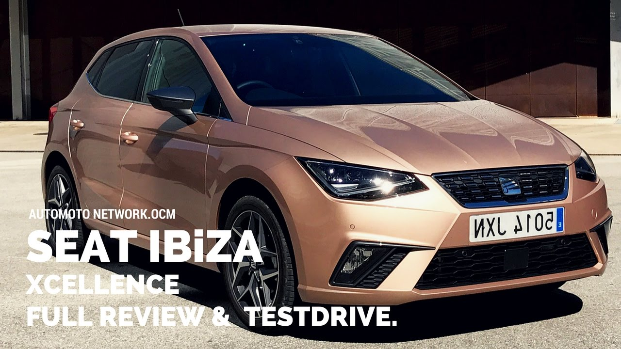 2017 seat ibiza 1 0 tsi 115 ps xcellence full review. Black Bedroom Furniture Sets. Home Design Ideas