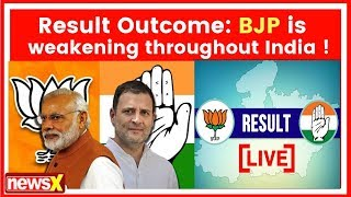Assembly elections result 2018 analysis: BJP is weakening throughout India !