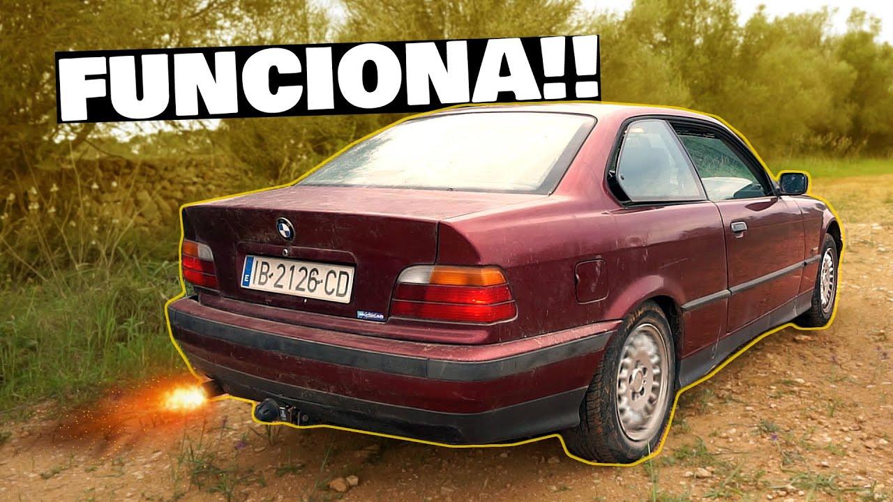 YA ARRANCÓ!! NECESITABA ÉSTA PIEZA 🚗 BMW E36 COUPE ABANDONADO | NACHO DRIFT