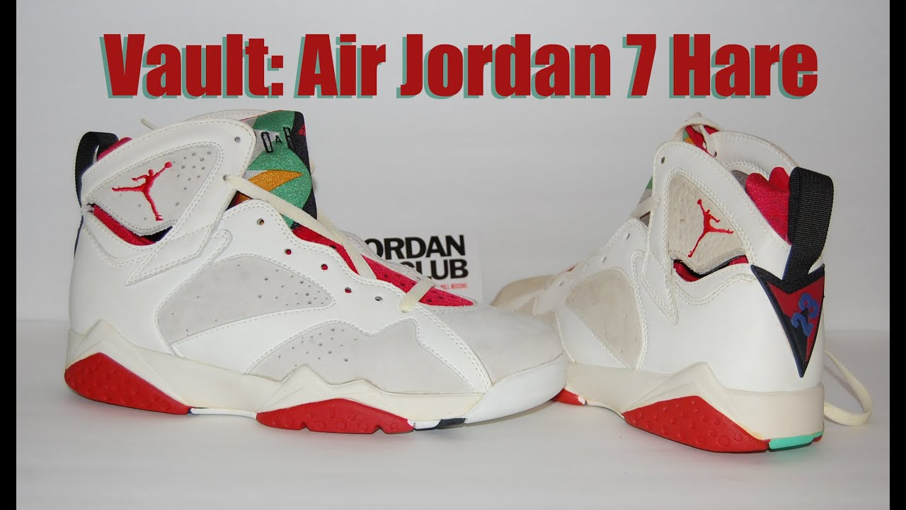 low priced aebc9 67f54 Vault: Air Jordan 7 Original (OG) Hare 1992