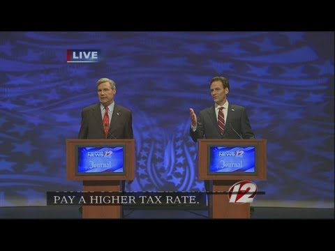 Whitehouse, Hinckley Do Battle in U.S. Senate Debate