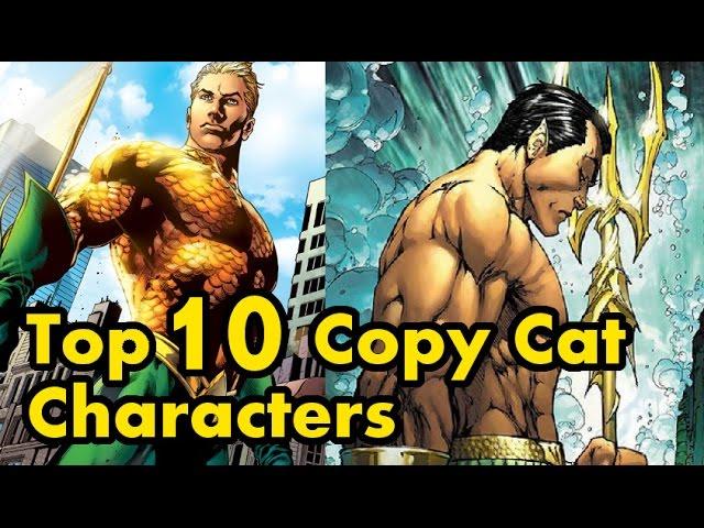 Top 10 Copy Cat Characters #1
