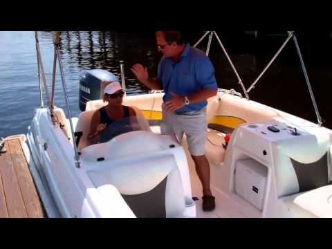 Freedom Boat Club Docking Instruction