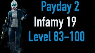 Payday 2 Infamy 19 | Part 4 | Level 83-100 | Xbox One