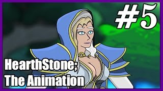 HearthStone Cartoon: Jaina VS Uther. Animation #5