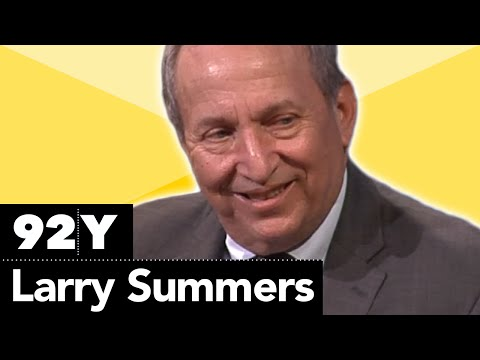 Larry Summers On Boycotts Of Israel On College Campuses