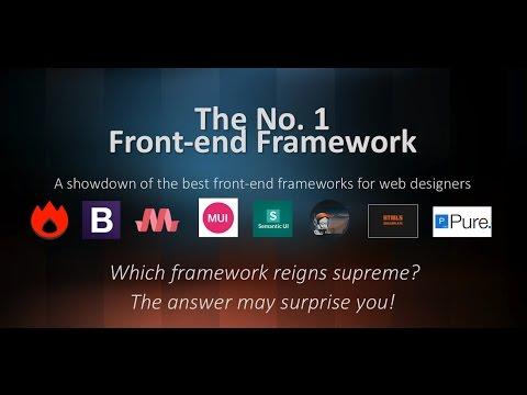 The No.1 Frontend Web Framework