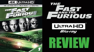 THE FAST AND THE FURIOUS 4K Blu-ray Review