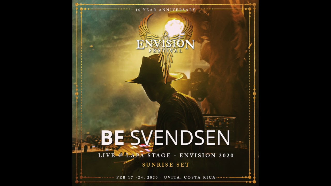 Be Svendsen Sunrise Live-Set at Envision Festival 2020