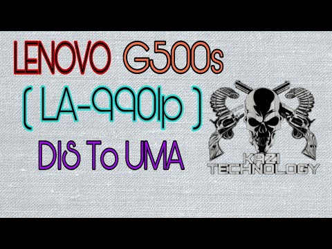Lenovo G580 LA-7981P Conversion DIS To UMA