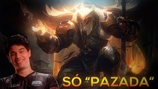 UM GAMEPLAY DE LEAGUE OF LEGENDS (EDITADO PARA AYEL)