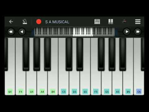 Chithram | Bgm | Mobile Piano
