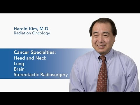 Meet Dr. Harold Kim - Radiation Oncology video thumbnail