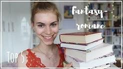 TOP 5 FANTASYBÜCHER / LIEBLINGSBÜCHER | booklove Toni