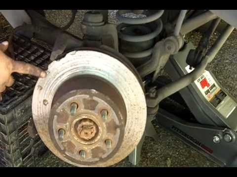 When To Replace Brake Pads >> Brake, Caliper Slide Pins, and Rotor Installation Tutorial ...