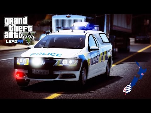 GTA 5 - LSPDFR - New Zealand Police Delta Unit (Play GTA V as a cop mod for PC)