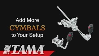 GEARING UP with TAMA: Add More Cymbals to Your Setup